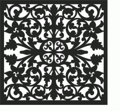 Screen Panel Patterns Seamless 8 Free DXF File