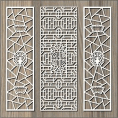 Signboard Pattern For Laser Cut Cnc Free DXF File