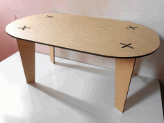 Table 3d Free DXF File
