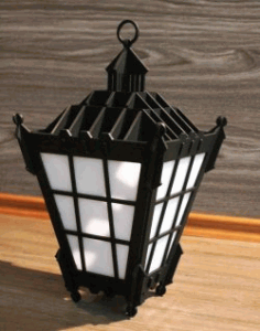 Wall Lamp For Laser Cut Cnc Free DXF File