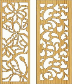Wall Of Rose Thorns For Laser Cut Cnc Free DXF File