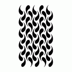 Weave Pattern Design Free DXF File