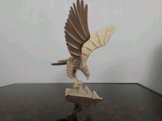 Wooden Bird Cnc Cutting Free DXF File