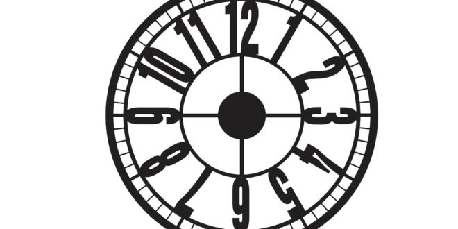 Clock To Laser Cuts Download Free DXF File